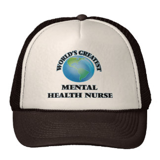 World's Greatest Mental Health Nurse Mesh Hat