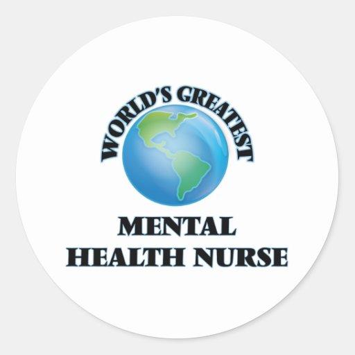 World's Greatest Mental Health Nurse Sticker
