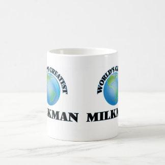 World's Greatest Milkman Basic White Mug