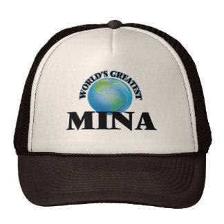World's Greatest Mina Trucker Hat