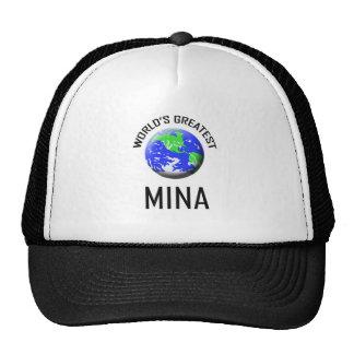 World's Greatest Mina Trucker Hats