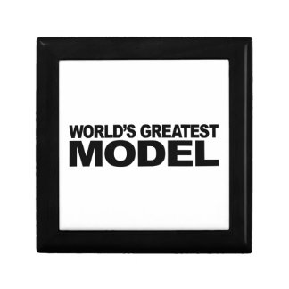 World's Greatest Model Small Square Gift Box