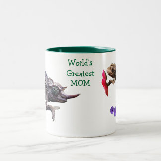 World's Greatest Mom Grouchy Chameleon Mug