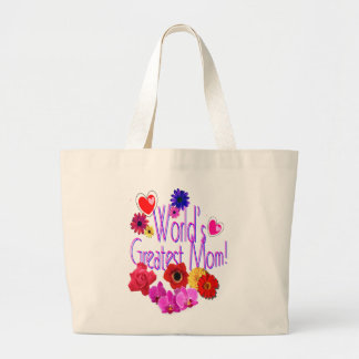 World's Greatest Mom! Large Tote Bag