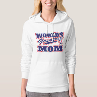 World's Greatest Mom Logo Hoodie