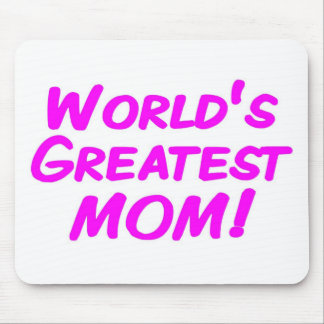 World's Greatest Mom Mouse Mat