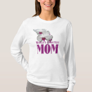World's Greatest Mom Orchid T-shirt