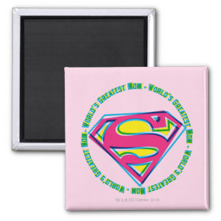 World's Greatest Mom Square Magnet