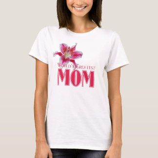 World's Greatest Mom Stargazer T-shirt
