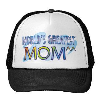World's Greatest Mom T Shirts Cap