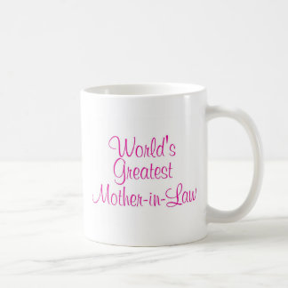 Worlds Greatest Mother In Law Coffee Mug