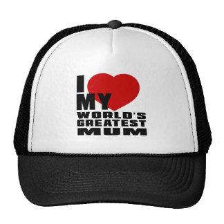 WORLD'S GREATEST MUM CAP