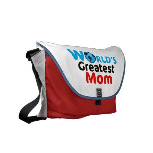 World's Greatest Mum Messenger Bag