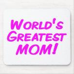 World's Greatest Mum Mouse Pad