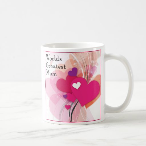 Worlds Greatest mum mug