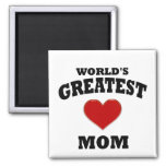 World's Greatest Mum Refrigerator Magnet