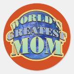 Worlds Greatest Mum Stickers