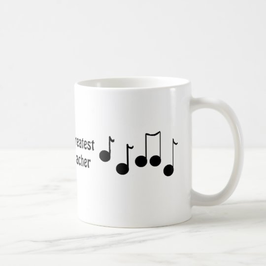 World's Greatest Music Teacher Coffee Mug