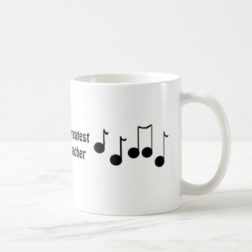 World's Greatest Music Teacher Coffee Mugs