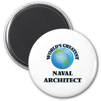 World's Greatest Naval Architect Refrigerator Magnet