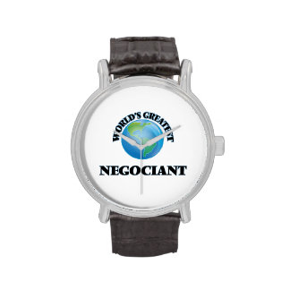 World's Greatest Negociant Watch
