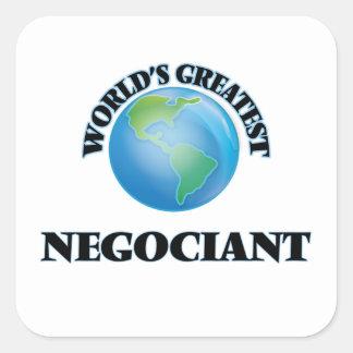 World's Greatest Negociant Square Sticker
