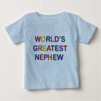 Worlds Greatest Nephew Infant T-shirt