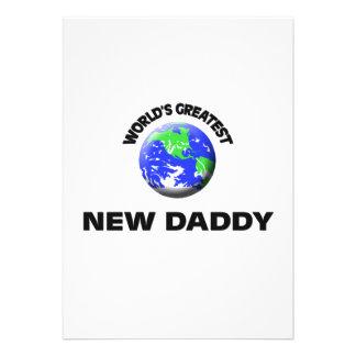 World's Greatest New Daddy Invitation