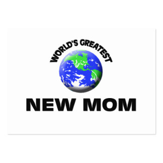 World's Greatest New Mom Pack Of Chubby Business Cards