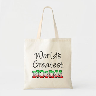World's Greatest Nonna Italian Grandma Tote Bag
