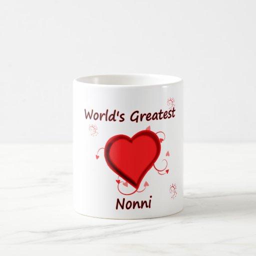 World's Greatest nonni Classic White Coffee Mug