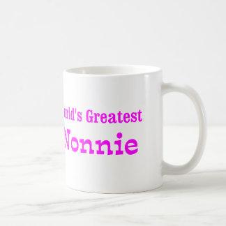 Worlds Greatest Nonnie Basic White Mug