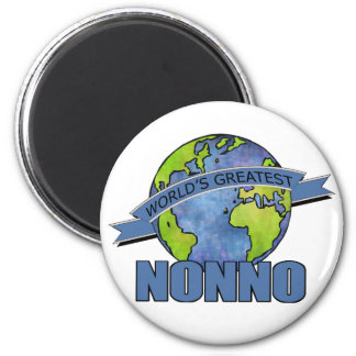 World's Greatest Nonno Refrigerator Magnet