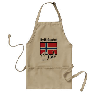 World's Greatest Norway Dad Standard Apron