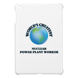 World's Greatest Nuclear Power Plant Worker iPad Mini Cover