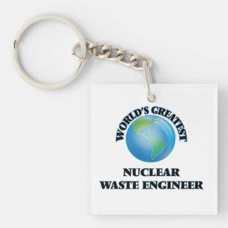 World's Greatest Nuclear Waste Engineer Acrylic Keychain