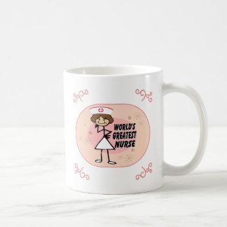 World's Greatest Nurse Basic White Mug