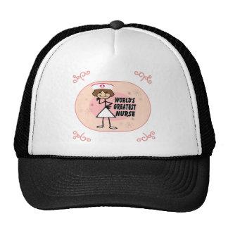 World's Greatest Nurse Trucker Hats