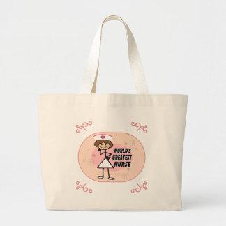 World's Greatest Nurse Jumbo Tote Bag