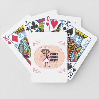 World's Greatest Nurse Poker Deck
