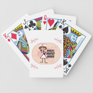 World's Greatest Nurse Playing Cards