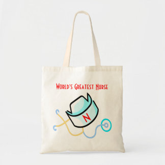 World's Greatest Nurse tote