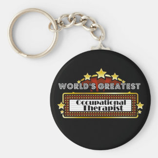 World's Greatest Occupational Therapist Key Ring
