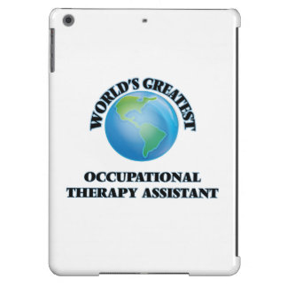 World's Greatest Occupational Therapy Assistant iPad Air Covers
