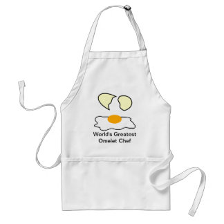 World's Greatest Omelet Chef Apron