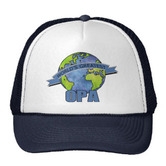 World's Greatest Opa Mesh Hat