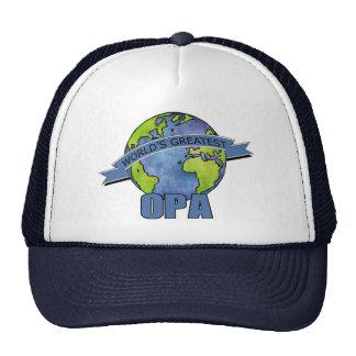 World's Greatest Opa Mesh Hat