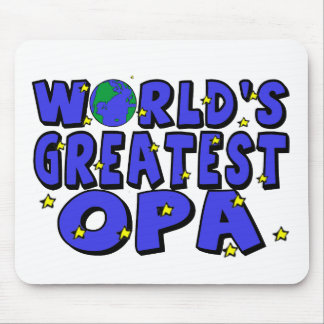 World's Greatest Opa Mouse Mat