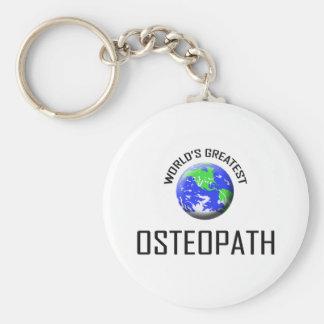 World's Greatest Osteopath Key Ring