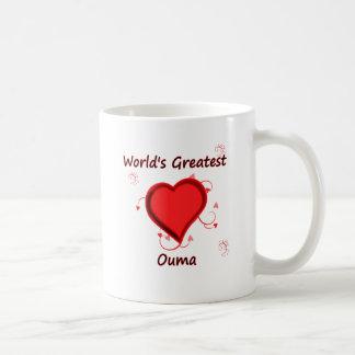 World's Greatest ouma Basic White Mug
